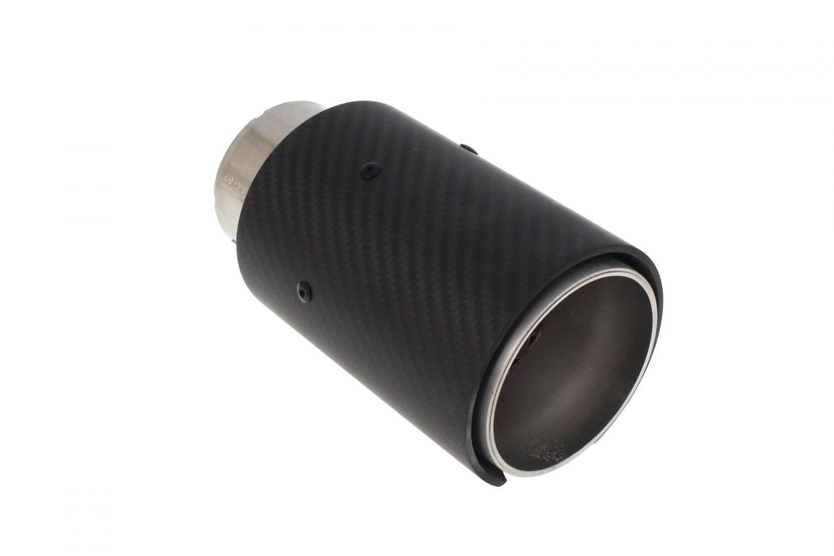 Końcówka tłumika 89mm wejście 65mm Carbon - GRUBYGARAGE - Sklep Tuningowy